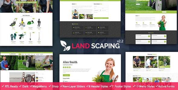 Landscaping - Gardening HTML