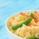 Health Lifestyle Concept - Mexican Rice With Vegetables - VideoHive Item for Sale