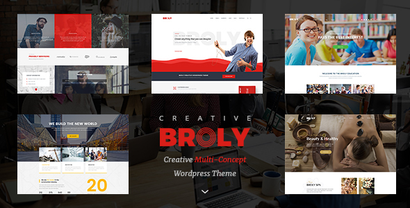 Broly - Creative Multi-Concept WordPress Theme