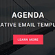 Agenda - Responsive email template with stampready builder - ThemeForest Item for Sale