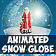 Animated Snow Globe Photoshop Action for Christmas - GraphicRiver Item for Sale