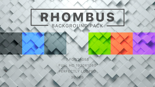 Rhombus Video Effects & Stock Videos from VideoHive