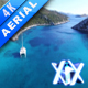 Sailboats In Clear Blue Sea - VideoHive Item for Sale