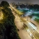 Jardim Do Morro In Vila Nova De Gaia And Porto Cityscape Night In Portugal, Historic City Centre - VideoHive Item for Sale
