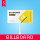 Studio Billboard Mock-up 6x3 vol.1 - GraphicRiver Item for Sale