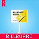 Studio Billboard Mock-up 4x3 vol.2 - GraphicRiver Item for Sale