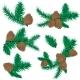 Pine Cone Christmas Decoration - GraphicRiver Item for Sale