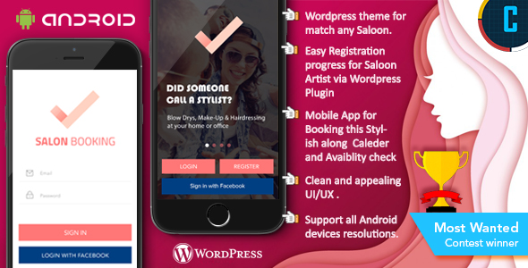 Make A Booking App With Mobile App Templates from CodeCanyon