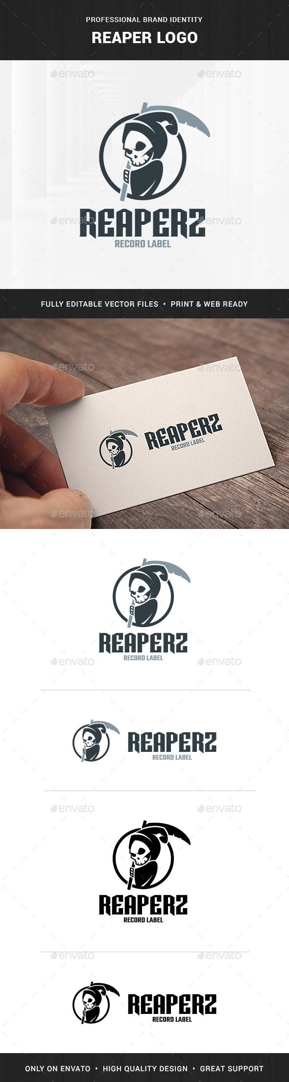 Reaper Logo Template