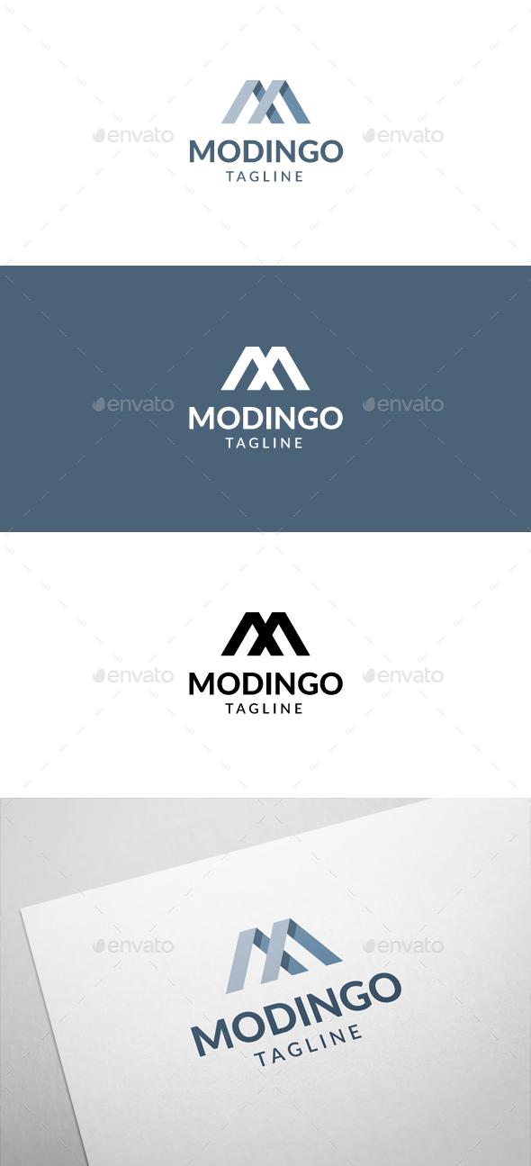 Modingo M Letter Logo