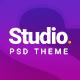 STUDIO   A Creative Agency Multipurpose PSD Template - ThemeForest Item for Sale