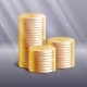 Stacks of Gold Coins, Vector Illustration. - GraphicRiver Item for Sale