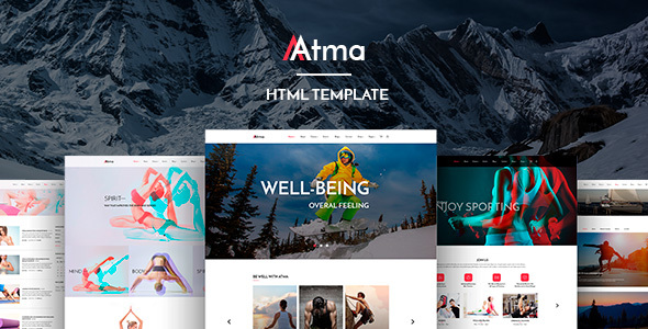 Atma - Creative Fitness & Sports HTML Template