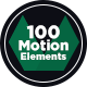 100 Motion Elements Pack - VideoHive Item for Sale
