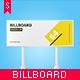Studio Billboard Mock-up 8x3 vol.3 - GraphicRiver Item for Sale