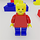 3d Lego Character - 3DOcean Item for Sale