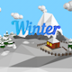 """Low poly """"Winter island"""" - 3DOcean Item for Sale"""