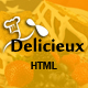 Mega Delicieux - Restaurant and Food HTML5 Template - ThemeForest Item for Sale