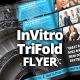 InVitro Tri Fold Flyer Template - GraphicRiver Item for Sale