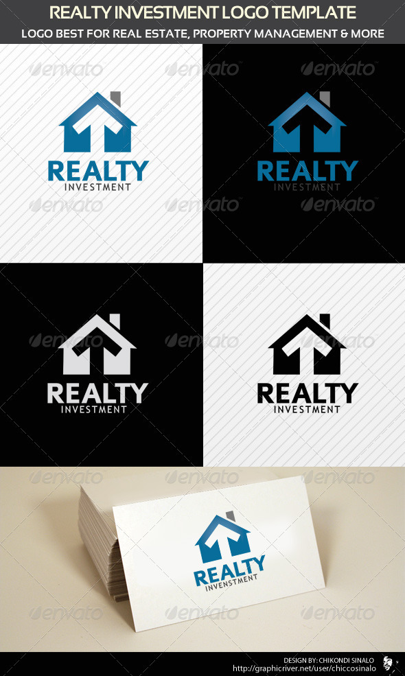 Realty Investment Logo Template