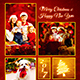 Christmas Photo Card Template - GraphicRiver Item for Sale