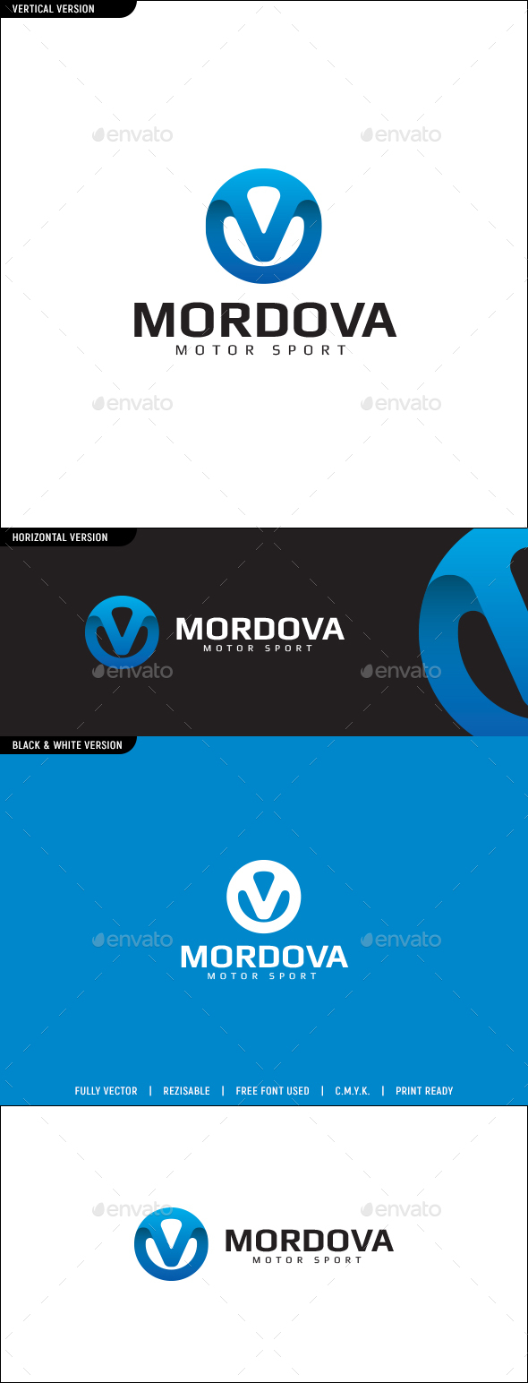 Mordova - Letter M Logo