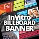 InVitro Billboard Banner Template - GraphicRiver Item for Sale