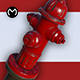 Fire Hydrant - Real Time PBR - 3DOcean Item for Sale