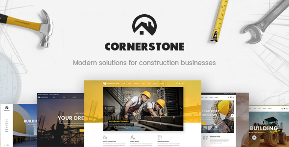 Cornerstone - Contractor & Builder Theme