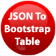JSON To Bootstrap Table - jQuery Plugin - CodeCanyon Item for Sale