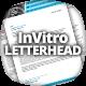 InVitro Letterhead Template - GraphicRiver Item for Sale