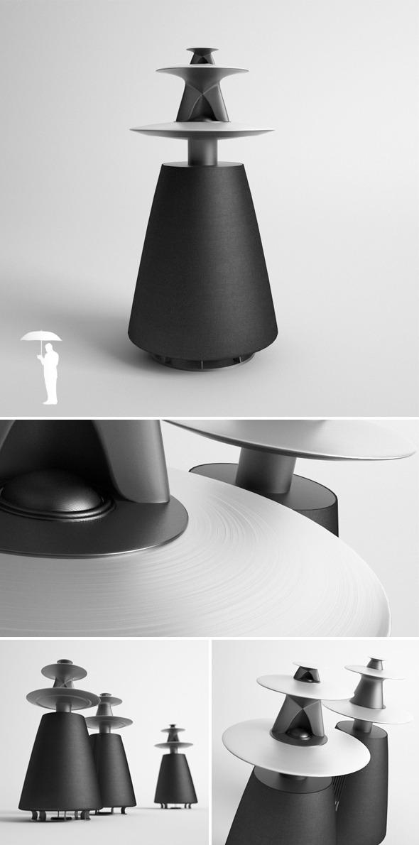2771d35cf86 Speaker CG Textures & 3D Models from 3DOcean