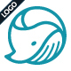 Circle Whale Logo Template - GraphicRiver Item for Sale
