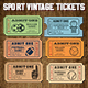 Vector Sport Tickets Templates - GraphicRiver Item for Sale