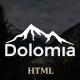 Dolomia - Hiking, Outdoor, Mountain Guide HTML Template - ThemeForest Item for Sale