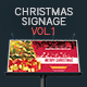 Christmas Signage & Billboard V.1 - GraphicRiver Item for Sale
