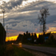Sunset Sky Over the Road - VideoHive Item for Sale