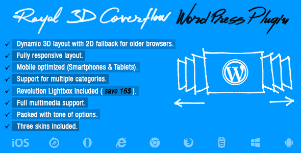 Photo of Kraliyet 3D Coverflow WordPress Eklentisi Full Download