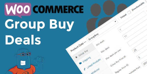 WooCommerce Group Buy and Deals - Groupon Clone for Woocommerce Download