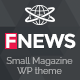 Small Magazine WP Theme - ThemeForest Item for Sale