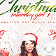Flyer Christmas Saturday Girl's - GraphicRiver Item for Sale