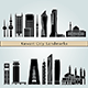 Kuwait City V2 Landmarks and Monuments - GraphicRiver Item for Sale