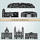 Lisbon Landmarks and Monuments - GraphicRiver Item for Sale