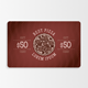 Fast Food Gift Card - GraphicRiver Item for Sale