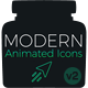 Modern Animated Icons Library - VideoHive Item for Sale