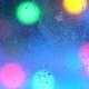 Snow-covered Window of the House. Christmas Lights. Garlands. New Year. - VideoHive Item for Sale
