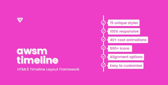 Timeline Framework HTML5