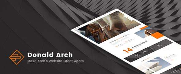 Donald Arch - Creative Architecture WordPress Theme
