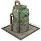 Rusty Industrial Tank - 3DOcean Item for Sale