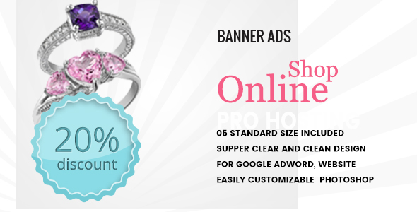 Multipurpose Online Shop Banner HTML5 - Animate